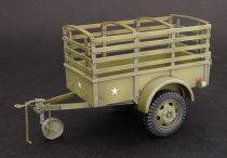 Plus Model U.S. 1-ton trailer Ben Hur makett
