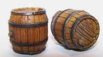 Plus Model Wooden barrel