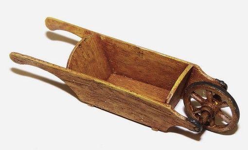 Plus Model Wooden wheelbarrow