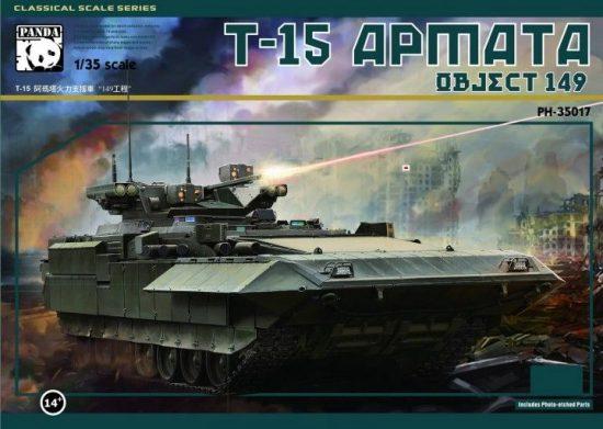 Panda Hobby T-15 Armata Object 149 makett