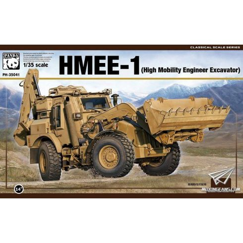 Panda Hobby HMEE-1 (High Mobility Engineer Excavator) makett