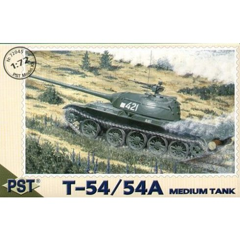 PST Russian T-54 medium tank makett