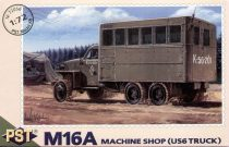 PST M16A Machine shop (US6 truck) makett