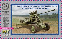 PST Soviet 72-K 25mm Anti-Aircraft gun makett