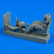 Aerobonus R.A.F. pilot with seat for Supermarine Spitfire