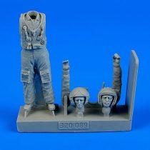 Aerobonus Soviet Pilot with life jacket - the Cold War period