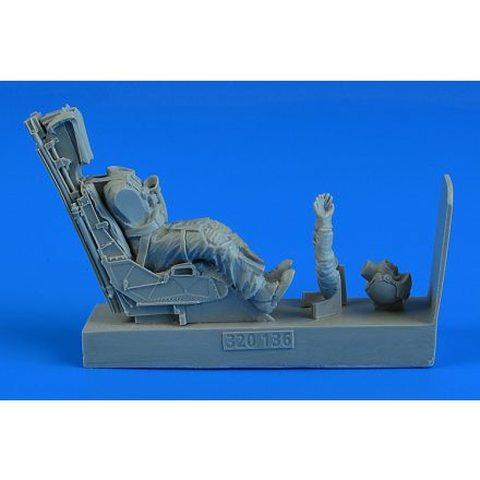 Aerobonus USAF Pilot with ejection seat for Lockheed F-117A Nighthawk (Revell, Trumpeter)