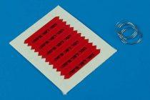 Aerobonus Remove before flight flags - IDF - black lettering
