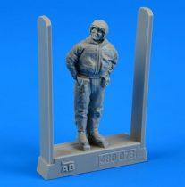 Aerobonus Soviet Air Force fighter pilot standing