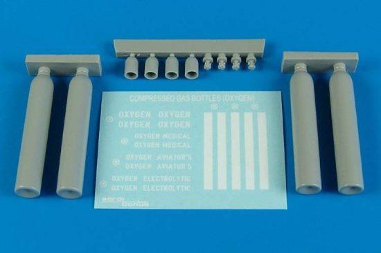 Aerobonus Compressed gas bottles - oxygen