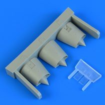 Quickboost Dassault Mirage F.1 air intakes (Special Hobby)