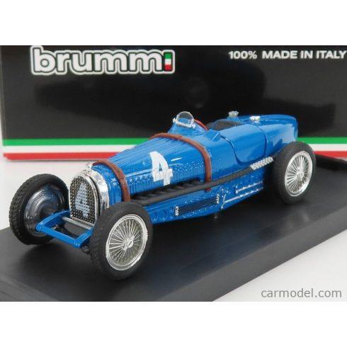 BRUMM BUGATTI F1 TIPO 59 N 4 WINNER BELGIUM GP 1934 RENE' DREYFUS