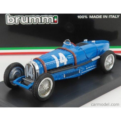 BRUMM BUGATTI TIPO 59 N N 14 FRANCE GP 1934 TAZIO NUVOLARI