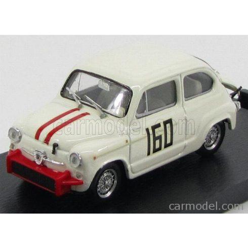 BRUMM FIAT 600 850 TC ABARTH N 160 PIEVE S.STEFANO 1962 PIERO FALORNI