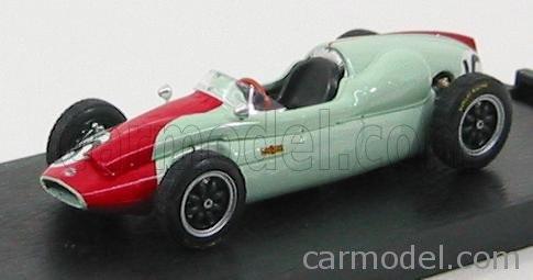 BRUMM COOPER F1 T51 N 16 GP MONTECARLO 1960 CHRIS BRISTOW