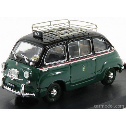 BRUMM FIAT 600D MULTIPLA TAXI MILANO 1960