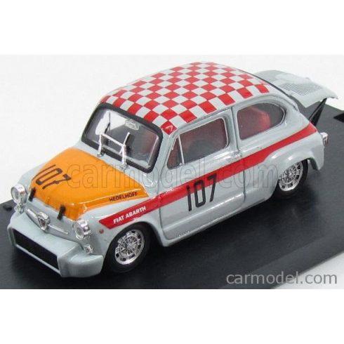 BRUMM FIAT 600 ABARTH 1000 CORSA N 107 WINNER 500km NURBURGRING 1967 EDELHOF