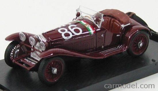 BRUMM ALFA ROMEO 1750 GS SPIDER N 86 3rd MILLE MIGLIA 1930 CAMAPARI - MARINONI
