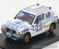BRUMM FIAT PANDA 4X4 N 210 RALLY PARIS DAKAR 1984 BAGHETTI - BADOIS