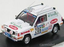BRUMM FIAT PANDA 4X4 N 206 RALLY PARIS-DAKAR 1984 HOEPFNER MARIANE - DHELIAT EVELYNE