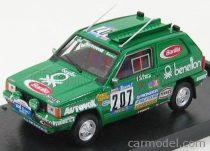 BRUMM FIAT PANDA 4X4 N 207 RALLY PARIS-DAKAR 1984 DE L.HERVE - D.CLAUDE