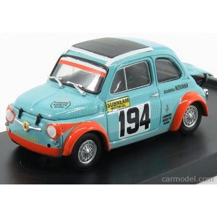 BRUMM FIAT ABARTH 500 595SS SCUDERIA NOVANA N 194 PIEVE SANTO STEFANO PASSO DELLO SPINO 1971 V.GATTAFONI - 70th ANNIVERSARY ABARTH 1949-2019