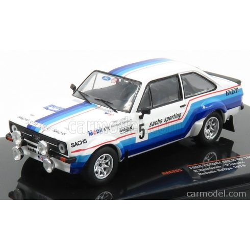 IXO FORD ESCORT MKII RS 1800 N 5 RALLY HESSEN 1978 R.HAINBACH - W.LINZEN