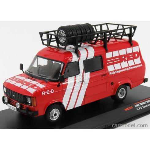 IXO FORD TRANSIT MKII TEAM RED ENGINEERING DEVELOPMENT ASSISTANCE RALLY 1986 AUSTIN METRO