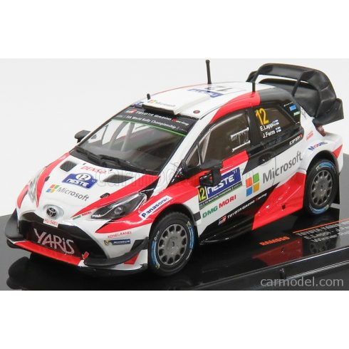 IXO TOYOTA YARIS WRC N 12 WINNER RALLY SWEDEN 2017 J.FERM - E.LAPPI