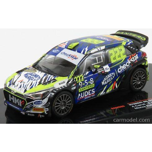 IXO HYUNDAI i20 NG WRC 4-DOOR N 222 RALLY MONZA 2018 A.CAIROLI - E.MORI