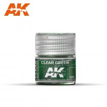 AK REAL COLOR - CLEAR GREEN