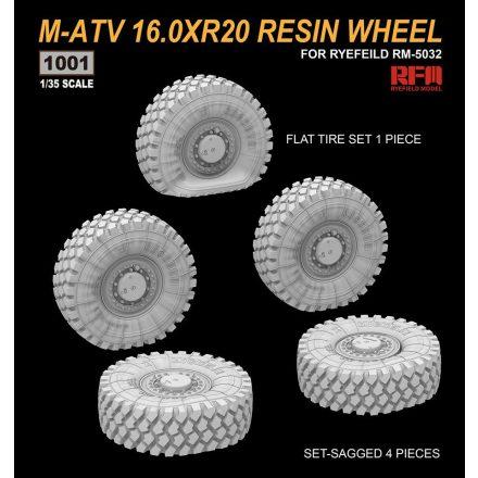 Rye Field Model M-ATV 16.0XR20 Resin Wheel