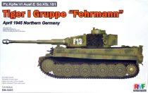 "Rye Field Model Tiger I Gruppe ""Fehrmann"" April 1945 makett"