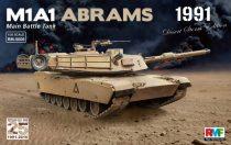 Rye Field Model M1A1 Abrams Gulf War 1991 makett