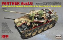 Rye Field Model Panther Ausf.G w/ Full Interior makett