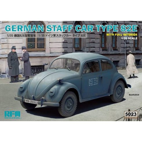 Rye Field Model German Staff Car Type 82E makett