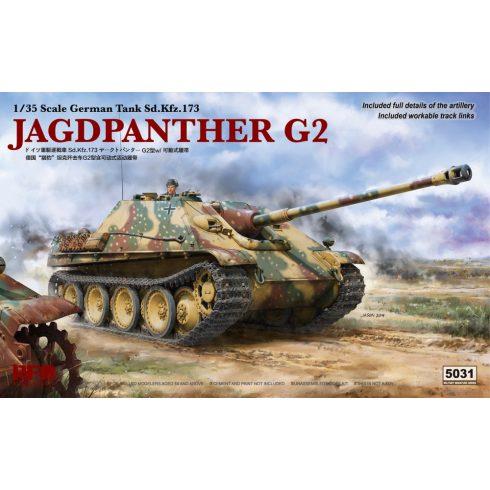 Rye Field Model Sd.Kfz.173 Jagdpanther G2 makett