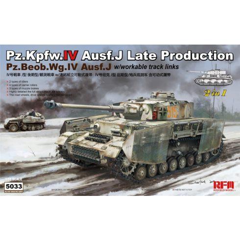 Rye Field Model Pz.Kpfw.IV Ausf.J Late/ Pz.Beob.Wg.IV Ausf.J makett