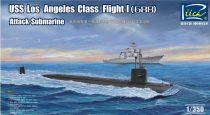 Riich Models USS Los Angeles Class Flight I (688) makett
