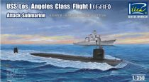 Riich Models USS Los Angeles Class Flight I (688) makett