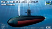 Riich Models USS Los Angeles Class Flight II (VLS) makett