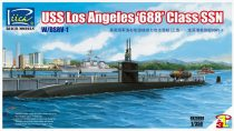 Riich Models USS Los Angeles '688' Class SSN with DSRV-1 makett