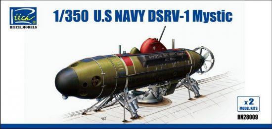 Riich Models U.S.Navy DSRV-1 Mystic makett
