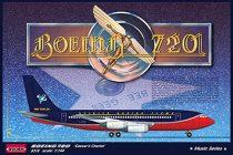 Roden Boeing 720 Caesar's Chariot makett