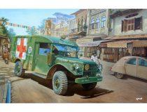Roden M43 3/4 ton 4x4 Ambulance Truck makett