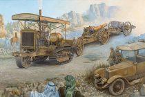 Roden Holt 75 Artillery tracktor w/BL 8-inch Howitzer makett