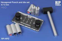 RP Toolz hatlapfejű lyukasztó és kiütő szerszám szerszám