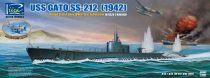Riich Models USS Gato Class SS-212 Fleet Submarine 1942 makett