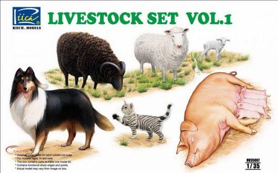 Riich Models Livestock Set Vol.1