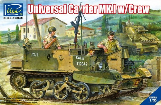Riich Models Universal Carrier Mk.1 with Crew makett